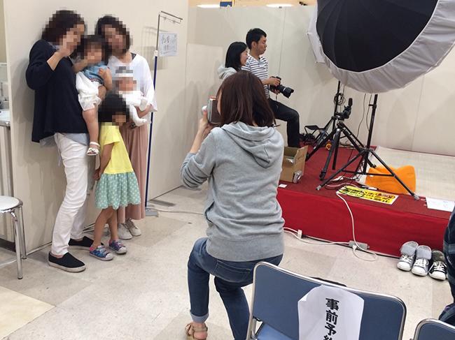 近鉄百貨店 橿原店「キッズ撮影会」